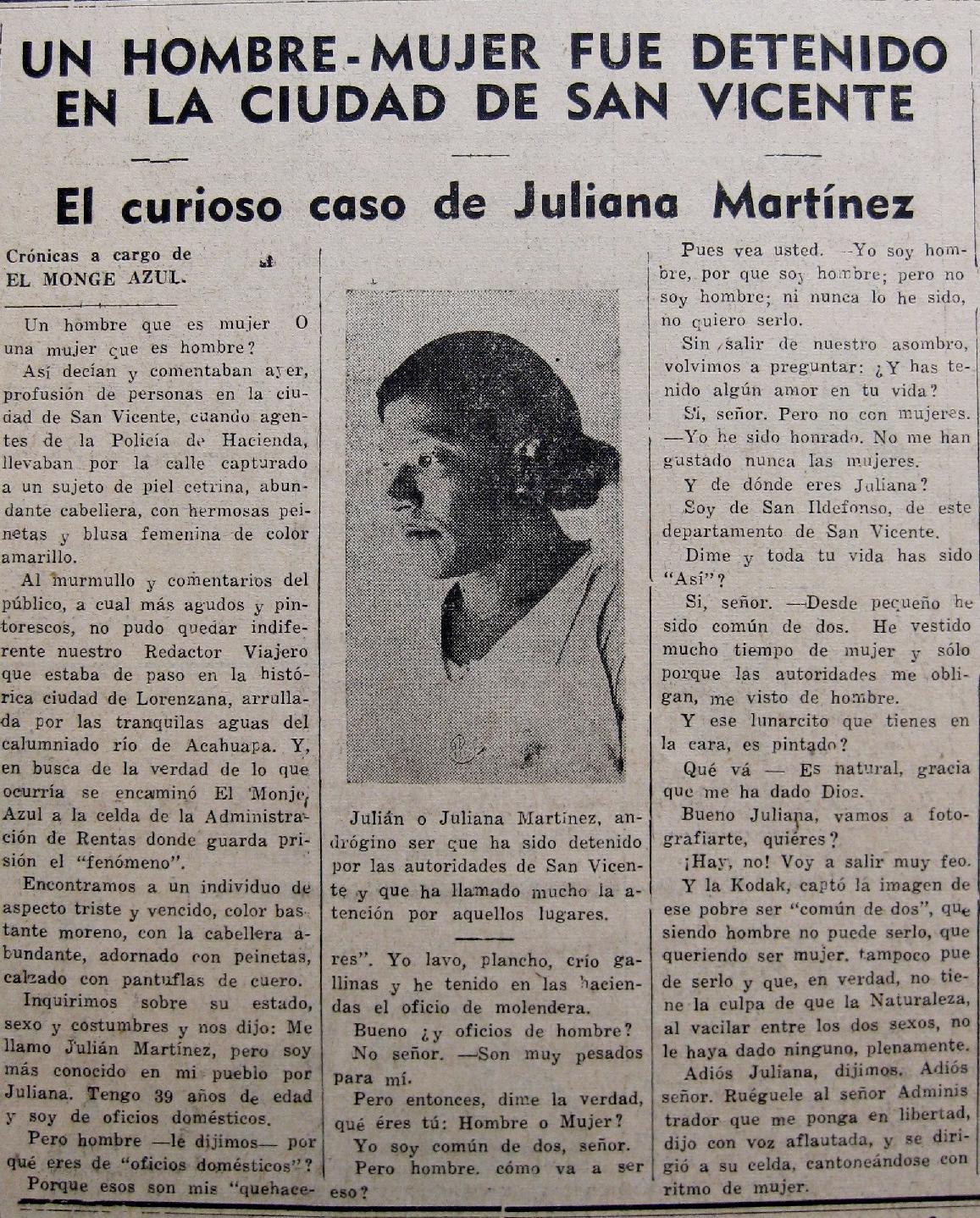 Resultado de imagen de juliana martinez trans