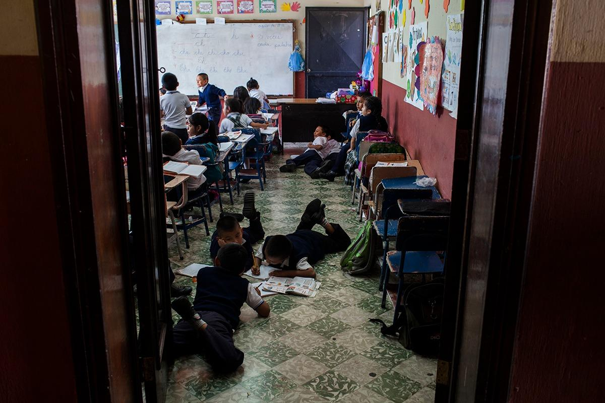 Studies show that schools are often hotspots for contagion, as children are often asymptomatic carriers. Photo: Simone Dalmasso/Plaza Pública