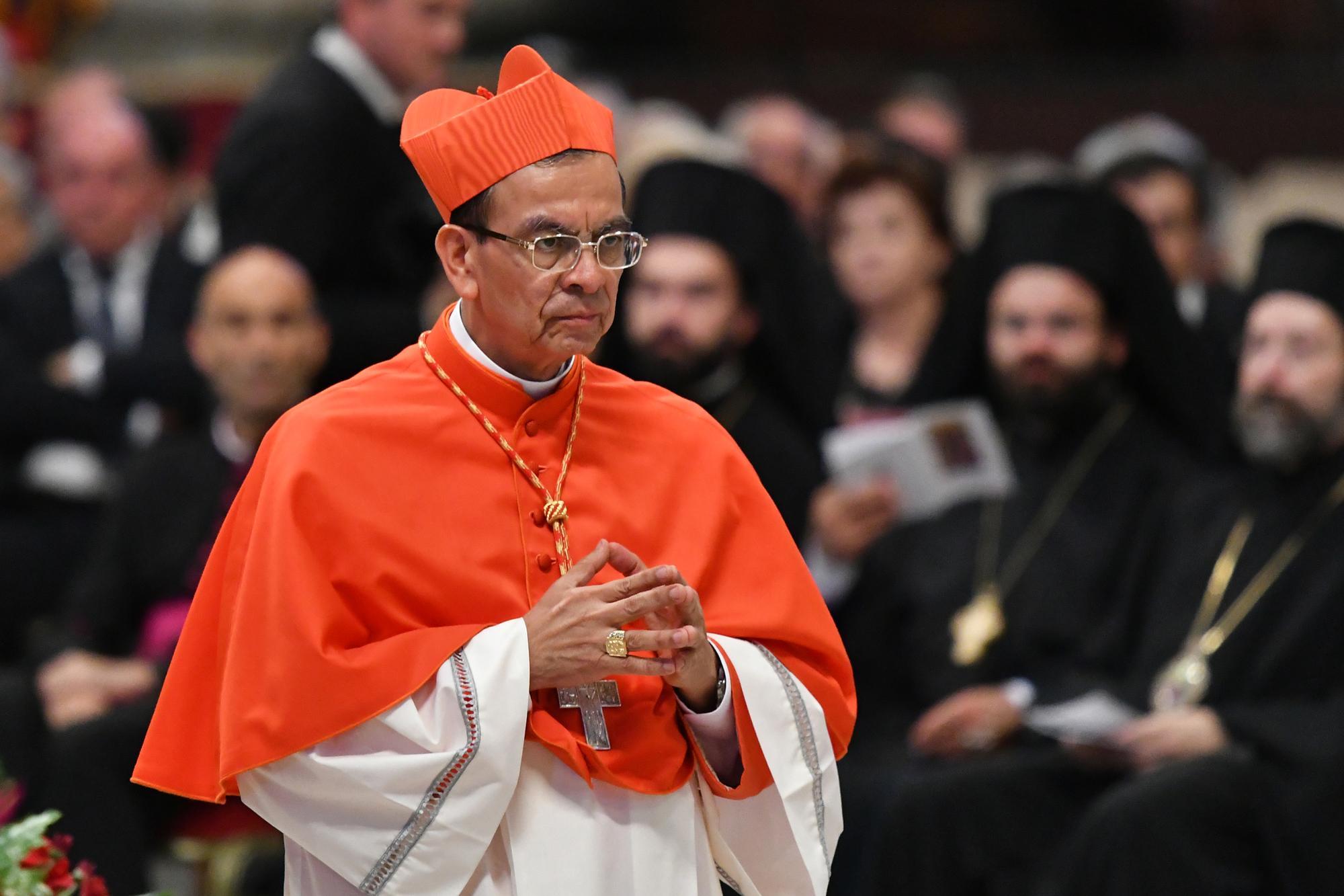 Cardenal Rosa Chávez está en cuarentena