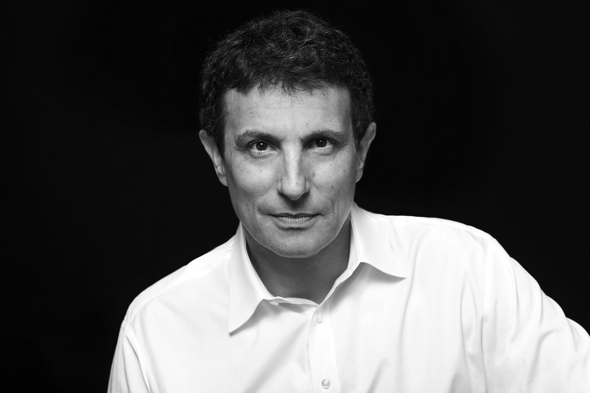 David Remnick, director de The New Yorker. Foto: Brigitte Lacombe. Cortesía The New Yorker