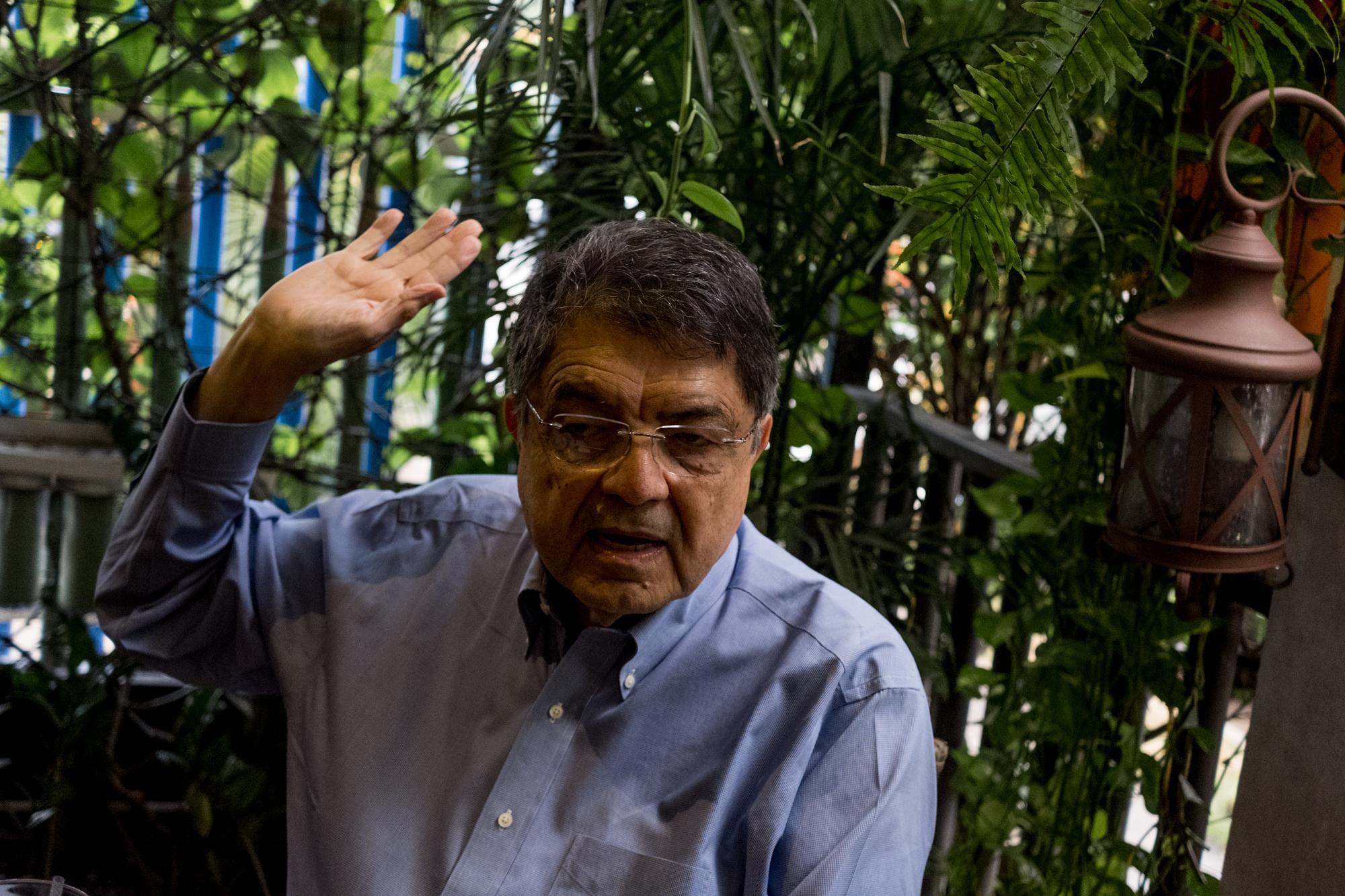 """Hace ocho meses, mientras recibía en Alcalá de Henares el Premio Cervantes de Literatura, Ramírez dijo:""""Permítanme dedicar este premio a la memoria de los nicaragüenses que en los últimos días han sido asesinados en las calles por reclamar justicia y democracia"""