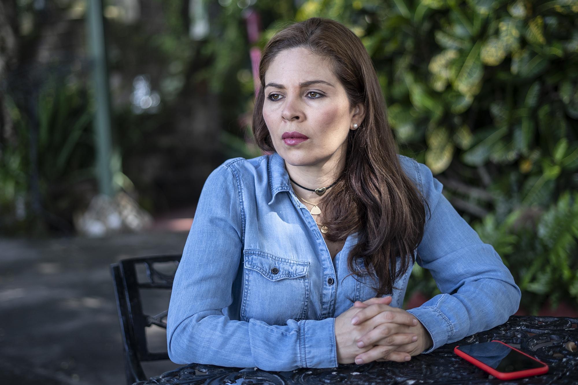 Retrato de Bertha María Deleón el jueves 11 de julio de 2019. Foto: Carlos Barrera