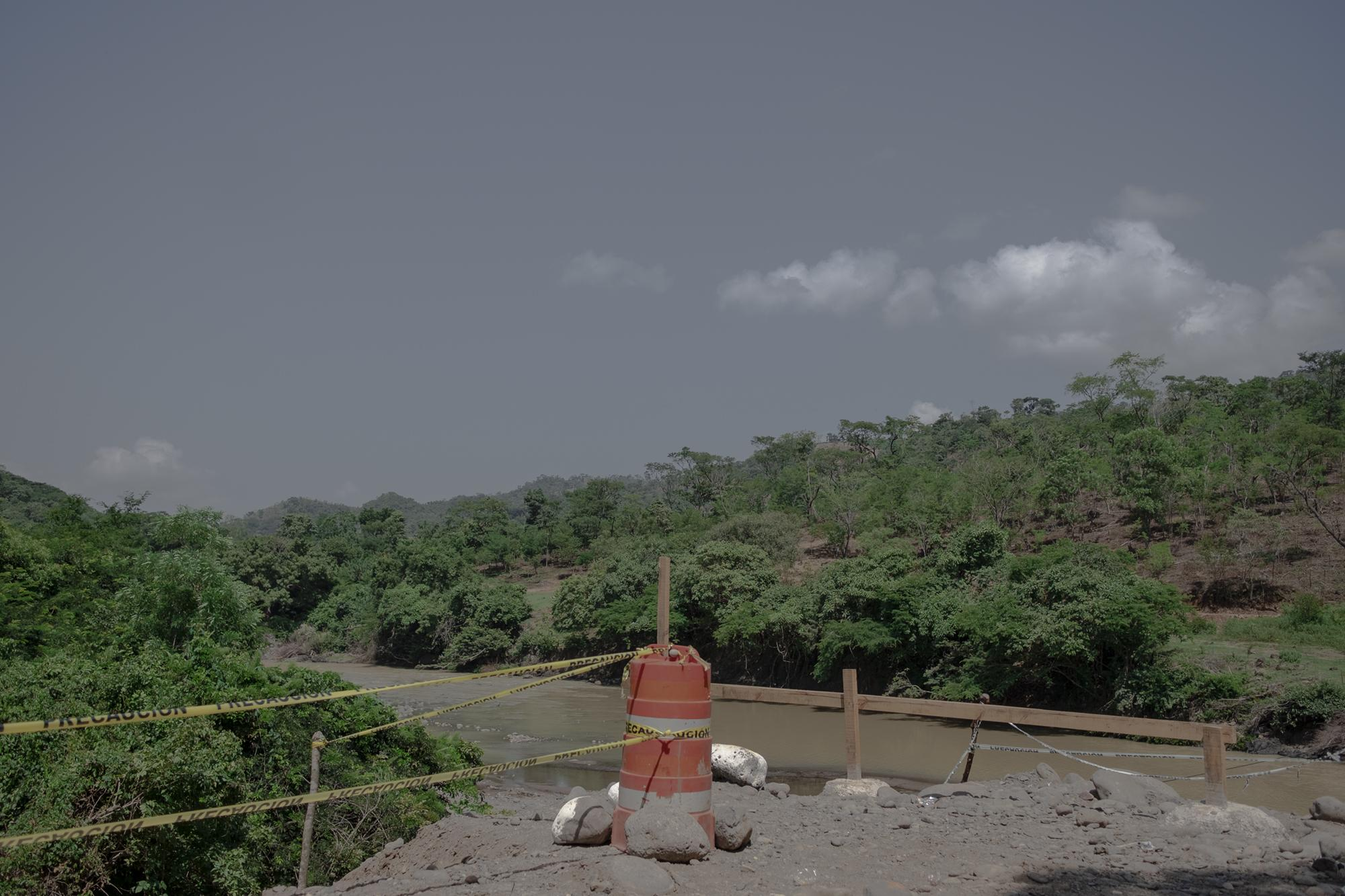 Para el 30 de agosto, 83 días después de la orden de inicio de construcción, así lucía el avance de la obra. Foto de El Faro   Fred Ramos